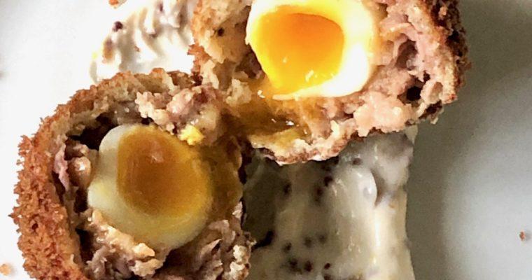 quail scotch egg