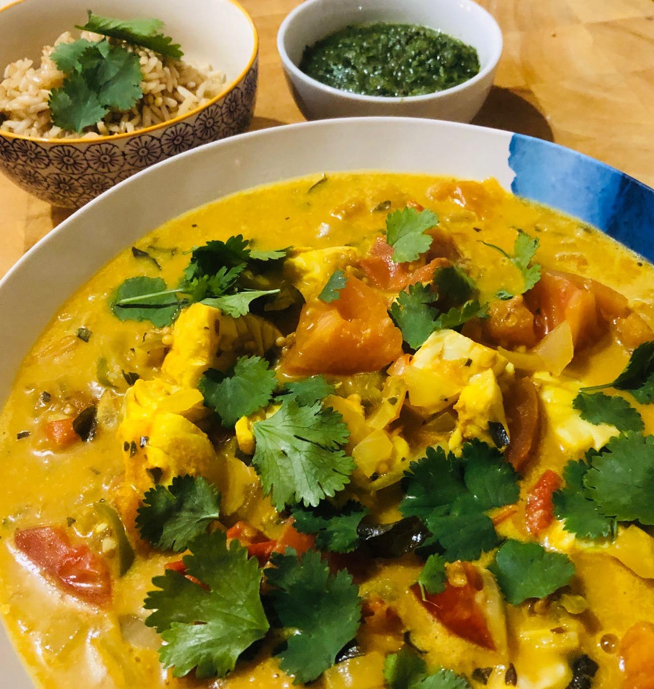 Day 28: Sri Lankan Fish Curry