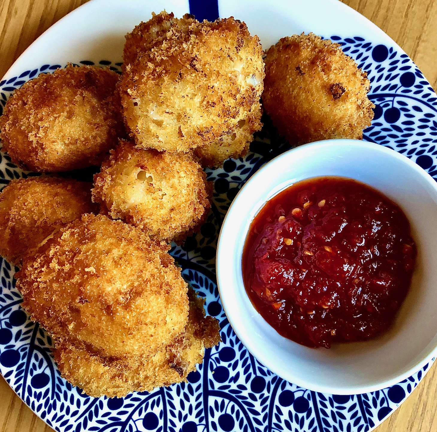 Day 54: Coppa and Cheese Rind Croquettes
