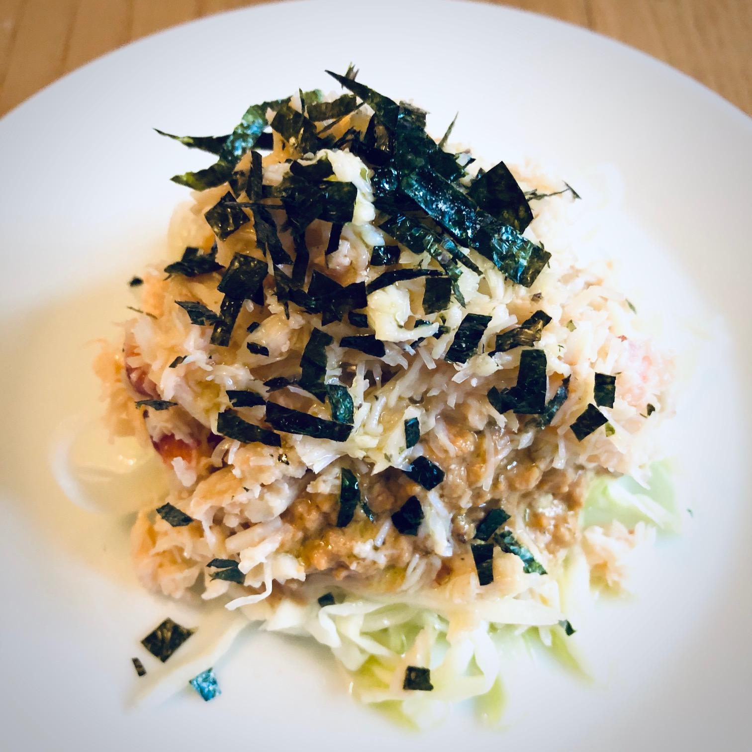 Day 51:  Devon Crab, Peanut Sauce, Pickled Cabbage