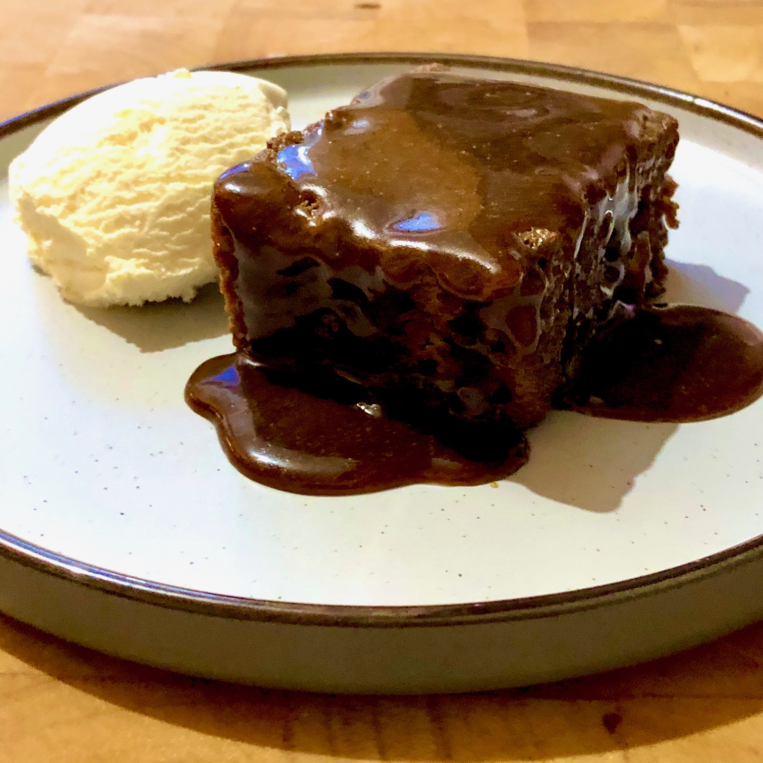 Day 71: Banana Sticky Toffee Pudding with Butterscotch Sauce