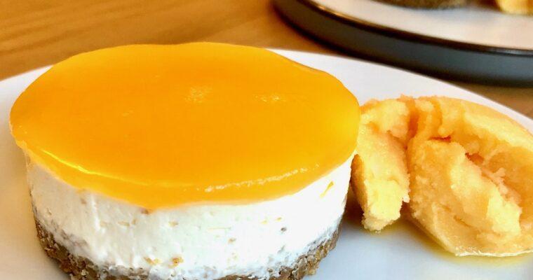 Vanilla & Passion Fruit Cheesecake, Passion Fruit Sorbet